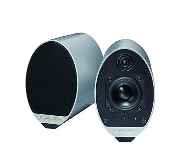 クリプトン KRIPTON コンパクト ニアフィールドオーディオシステム KS-55S シルバー : Bluetooth aptXHD ハイレゾ対応