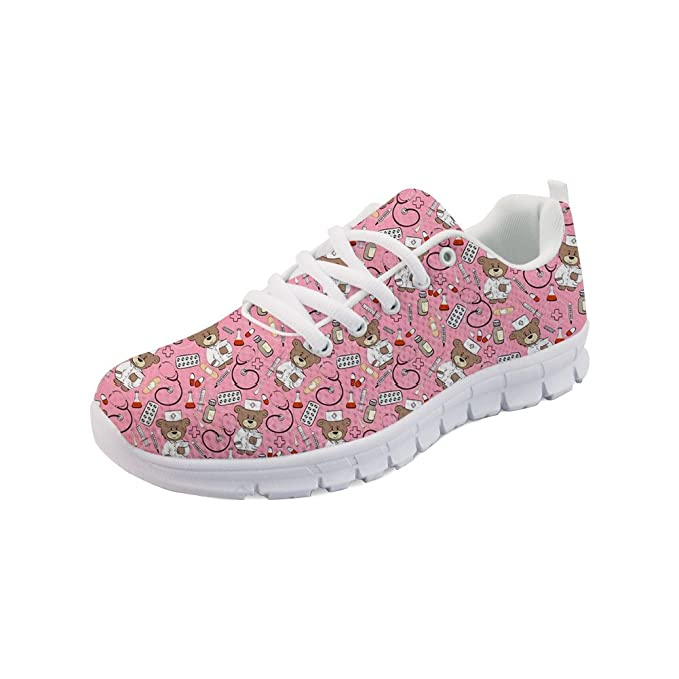 30bfa816a6c5e Showudesigns Comfortable Sneaker Women Running Sport Shoes Fashion ...