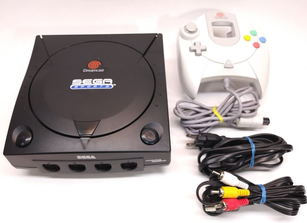 Amazon com: Sega Dreamcast System - Video Game Console (Black Sega