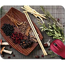 Liili Mousepad IMAGE ID 31956062 Traditional chinese medicine ingredients close up