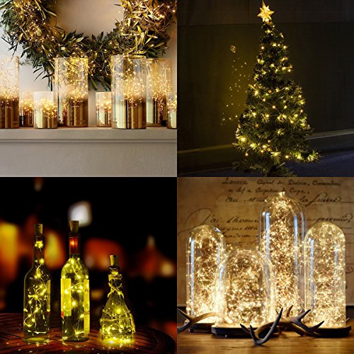AMIR Fairy String Lights 20 LED Moon Lights Starry String Import It All
