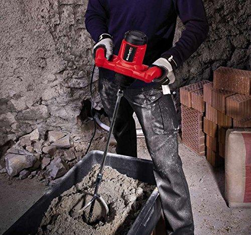 240 V KWB 49497630 Mezclador Einhell TC-MX 4258545 Batidor de pintura rojo potencia 1200 W