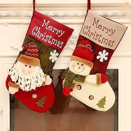 6d21d91c1f4c6c Amazon.com  QBSM Christmas Stockings