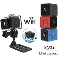 elegantstunning SQ23 HD WiFi Mini Camera 1080P Video Sensor Night Vision Camcorder Micro Cameras DVR Recorder Blue