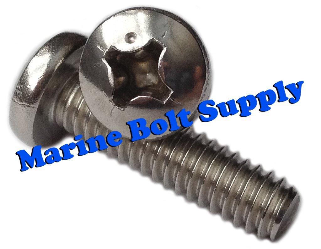 Type 316 Stainless Steel Phillips Pan Machine Screw Kit Marine Bolt Supply 6-111316 by Marine Bolt Supply (Image #2)
