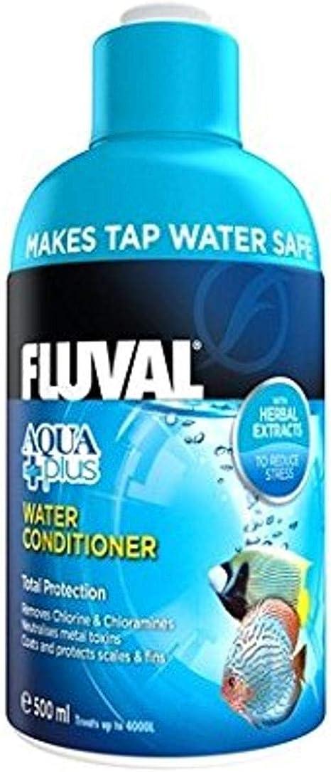 Fluval Acondicionador de Agua Aquaplus - 500 ml: Amazon.es ...