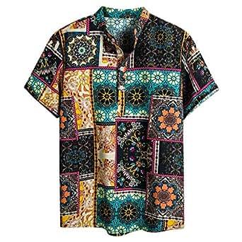 4178f7c51366 Cocoty-store 2019 Camisa Hawaiana para Hombre 3D Estampada Funny ...