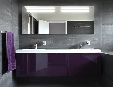 Bagno specchio con illuminazione atlanta m l design specchio
