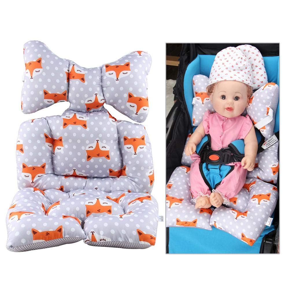 Amazon Com Infant Car Seat Insert Womdee Baby Cart Seat Cushion