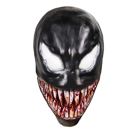 molezu Scary Mask Halloween Cosplay Costume Accessories Latex Mask ...