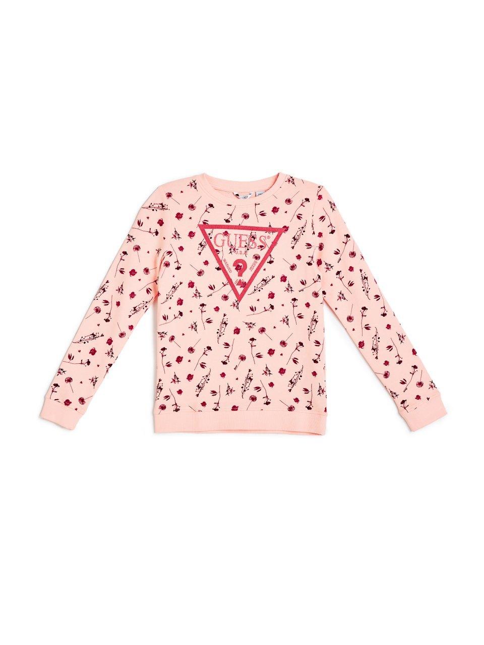 GUESS girls Big Girls Starlight Sweatshirt J74Q09K5WK1