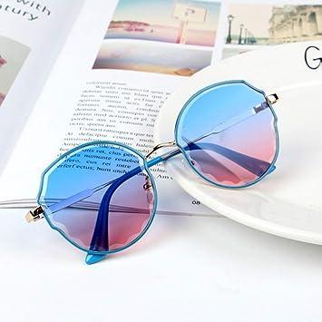 Gafas De Sol para Niños, Niños Moda Gafas Irregulares para ...
