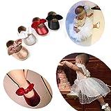 SOFMUO Antheron Baby Girls Non-Slip Mary Jane Flats