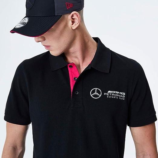 New Era Mercedes AMG Petronas E-Sports - Polo Negro Negro (S ...