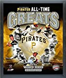 """Pittsburgh Pirates MLB All Time Greats Composite Photo (Size: 12"""" x 15"""") Framed"""