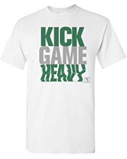 0442a38142e395 theSTASH Clothing Company Kick Game Heavy Men s T-Shirt Sneaker Tee to  Match Jordan 11