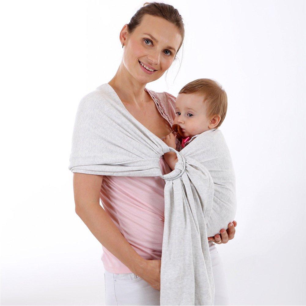 Sangle de ceinture bébé populaire européenne et américaine avec anneau, porte-bébé DOXUNGO, oxydation de l'anneau métallique
