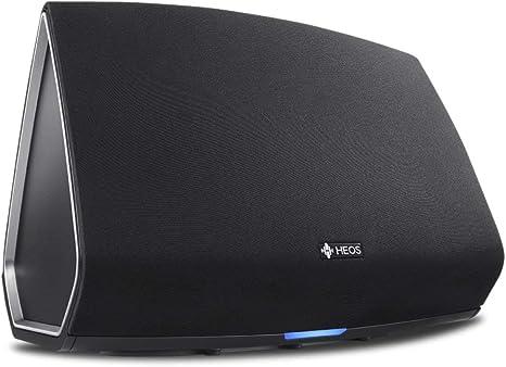 Denon HEOS5BKE2 HEOS 5 audio-streaming parlantecon (Multi Room, Spotify Connect, Deezer, Tidal, sonido Cloud, Les dimostodo, Bluetooth, WLAN, USB, la inflación aplicaciones, AUX-In) Colour negro (importado)
