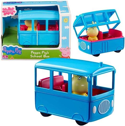 Peppa Pig Selección de Vehículos Juego Figura y Accesorios, Figura ...