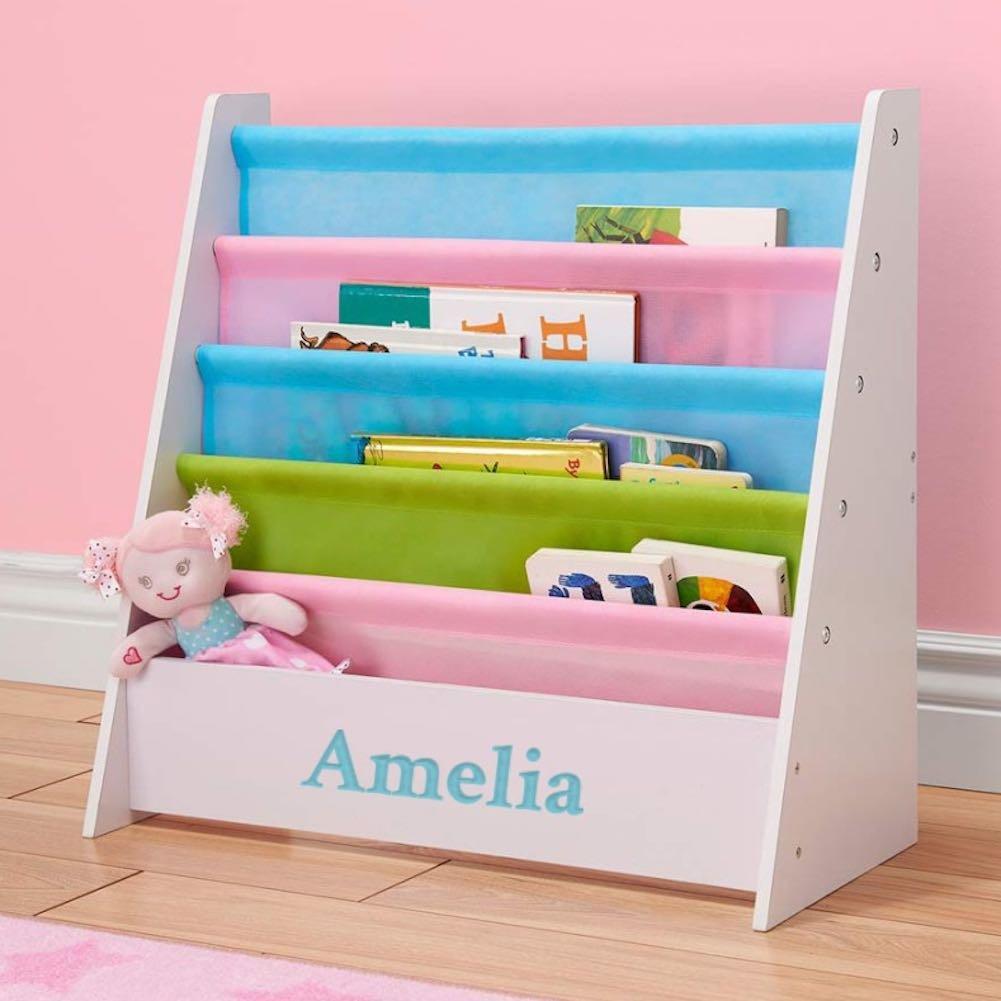 Amazon Personalized Dibsies Kids Bookshelf