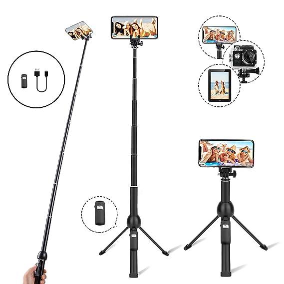 51bb8848c24 Amazon.com  Eocean 45-Inch Selfie Stick Tripod