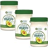 Chosen Foods 100% Pure Avocado Oil Mayo Non GMO - Cage Free Eggs - Soy Free - 12OZ - 3 PACK - KOSHER