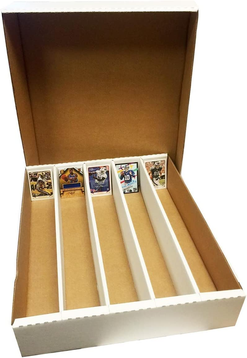Sportscards Hockey Football BCW 800 Count- Corrugated Cardboard Storage Box Nascar Basketball Set of 2 boxes by BCW Gaming /& Trading Cards Collecting Supplies Baseball