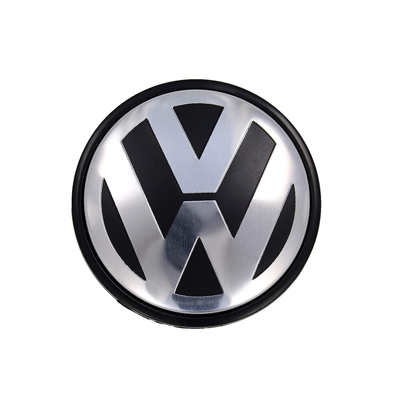 DigHealth Set di 4 coprimozzo per VW Diametro Esterno 65 mm coprimozzo Centrale coprimozzo per Ruota Auto coprimozzo di Ricambio