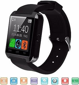 Bluetooth Reloj Inteligente, KeepGoo U8 Smartwatch para Android ...