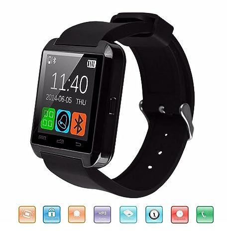Montres connectées Bluetooth, KeepGoo Montre Intelligente de Poignet Montres de Sport numériques Support Fitness Tracker