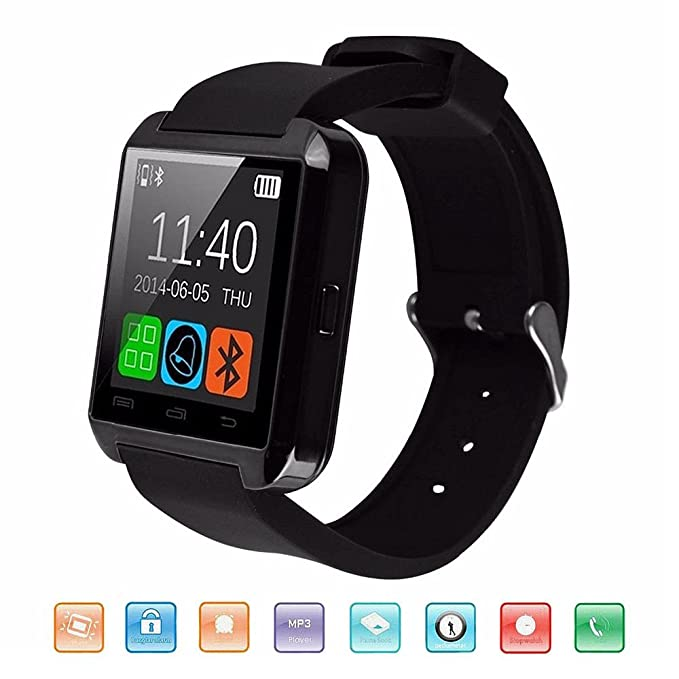 Bluetooth Reloj Inteligente, KeepGoo U8 Smartwatch para Android ...
