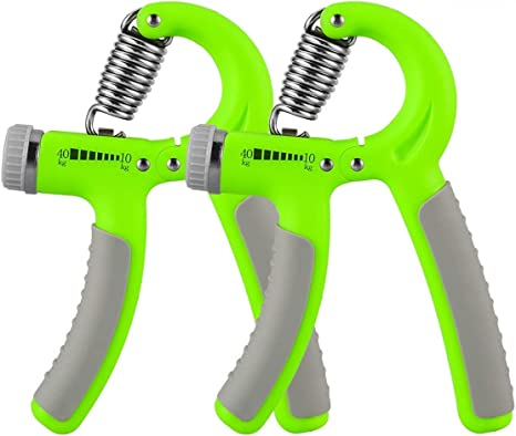 Hand Grip Strengthener with Adjustable Resistance22-88 Lbs Forearm Exerciser