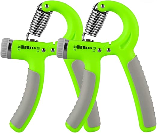 Details about  /Hand Grip Exerciser Strengthener for Forearm Wrist Strength Orange Blk 22-88 lbs