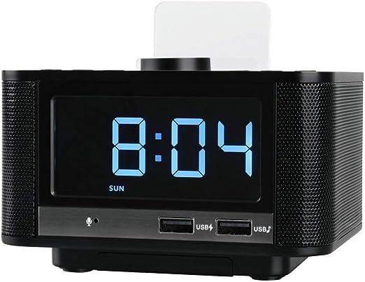 TYX HOME Reloj Despertador Digital con Radio FM Pantalla LED ...