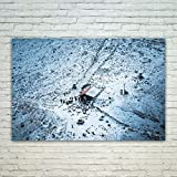 4 person ice shack - Westlake Art Poster Print Wall Art - Snow Winter - Modern Picture Photography Home Decor Office Birthday Gift - Unframed - 4x6in