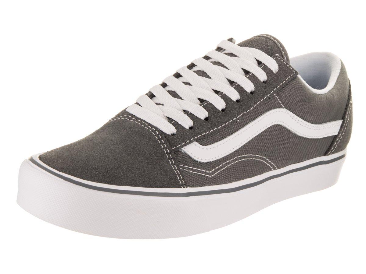 Vans Unisex Old Skool (Suede/Canvas) Pewter Skate Shoe 13 Men US by Vans