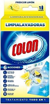 Colon Limpialavadoras - Limpiador de lavadora y antiolor, aroma ...