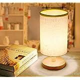 ベッドサイドランプ 電球付き デスクライト テーブルランプ 和風スタンド ナイトライト インテリア照明 間接照明 常夜灯