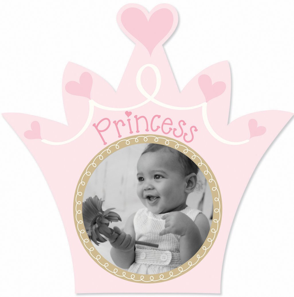 Amazon.com : Lil Peach Princess Picture Frame, Pink : Nursery ...
