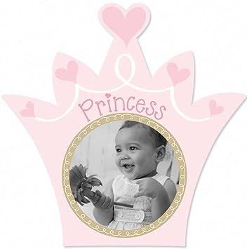 Amazon.com : Lil Peach Princess Picture Frame, Pink : Nursery ...