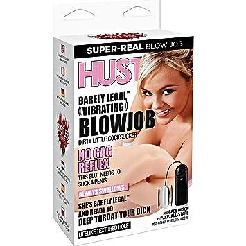 Vibrating blow job