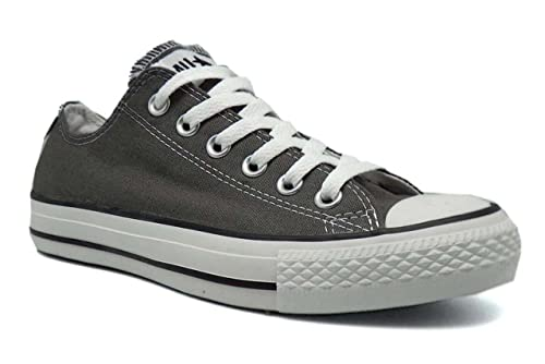 b832e7b0844 Converse All Star Chuck Taylor Lo Ox Charcoal New Mens Shoes Boots Trainers -8