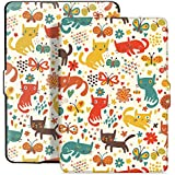 Capa Case Kindle Paperwhite WB® Auto Liga/Desliga  - Ultra Leve Cats