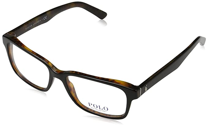 Polo Ralph Lauren 0PH2141, Monturas de Gafas para Hombre, Multicolor (Top Black/