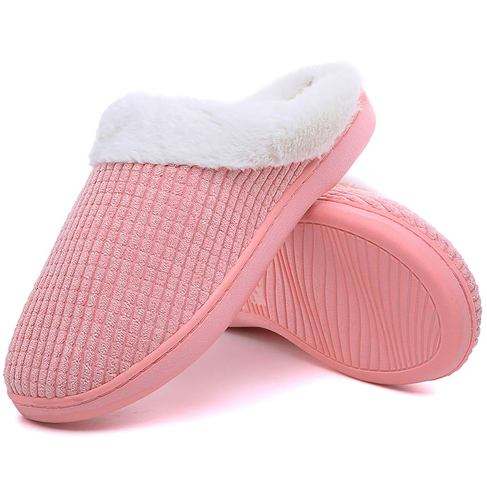 d8b9f33ec195 Slippers for Women Men Indoor Comfort House Shoes Memory Foam Outdoor Shoes  for House Hotel