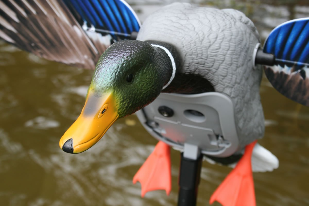 MOJO Outdoors Mojo King Mallard Spinning Wing Duck Decoy (New for 2017) by MOJO Outdoors (Image #2)