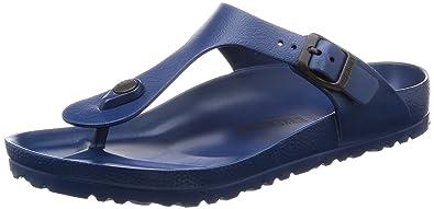 Birkenstock Essentials Unisex Gizeh EVA Sandals White 37 M EU (US Women's 6 6.5) Regular