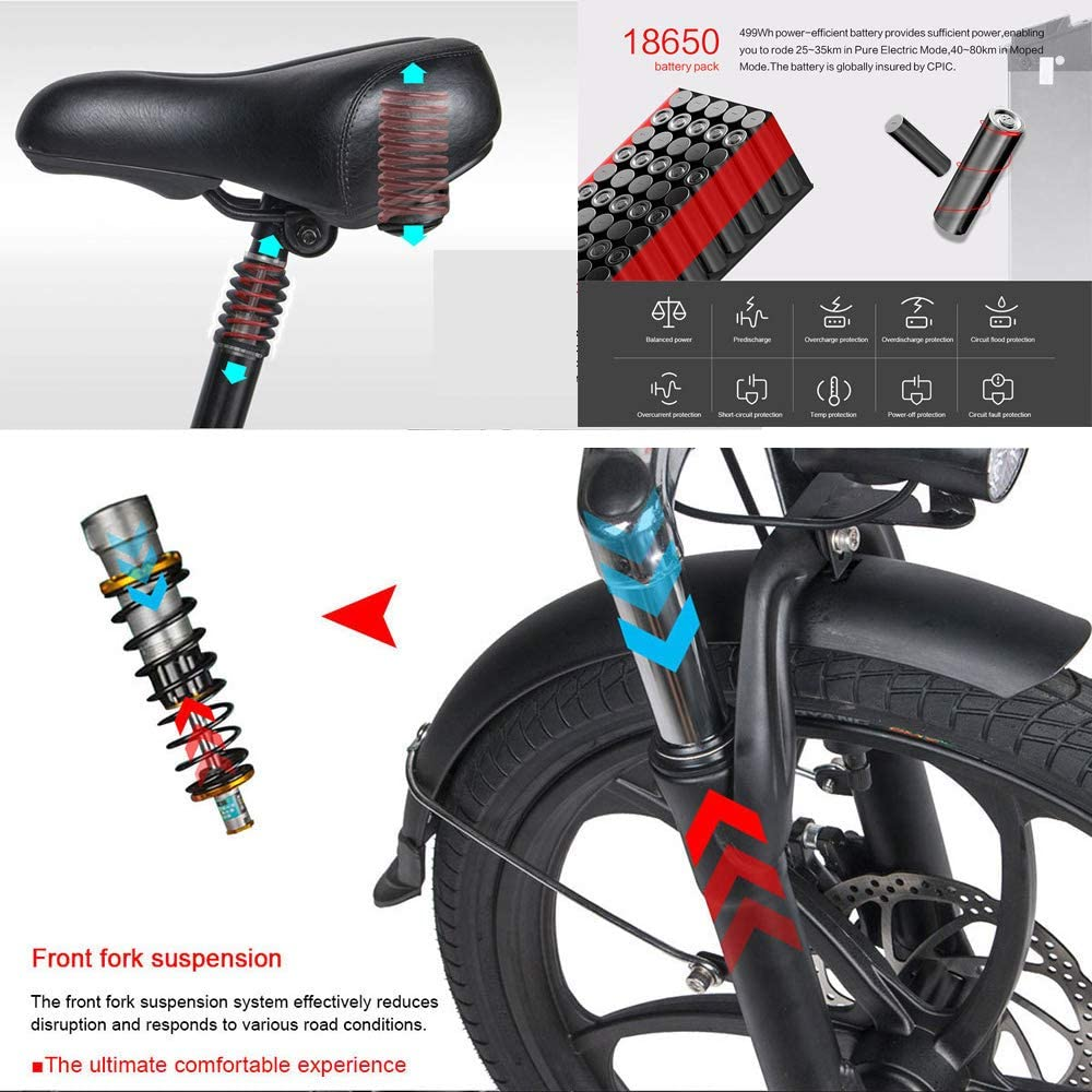 Charger Portable Accessory Mount Black Rubber Electric bicycle Convenient