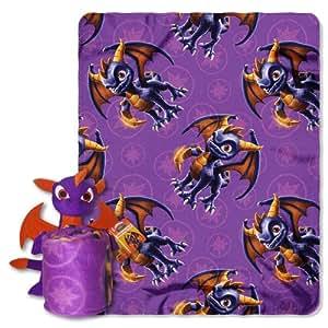 Skylanders Character Hugger Pillow and Throw Set - Spyro