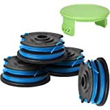Generep Weed Eater Dual Line String Trimmer Replacement Spool for Greenworks .29242/29082 27ft 065-Inch Dual Line,Compatible